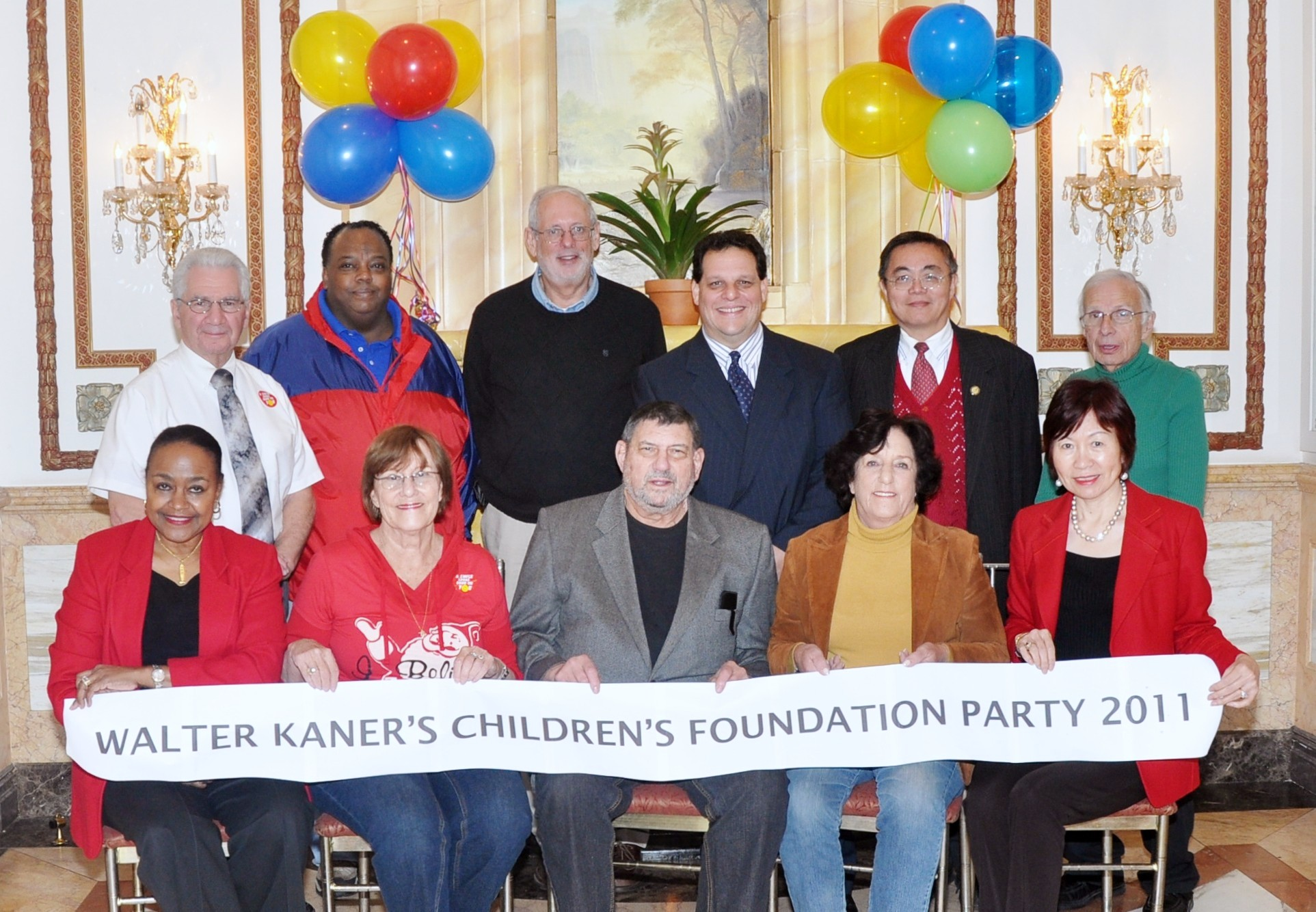 Walter Kaner Children's Foundation staff